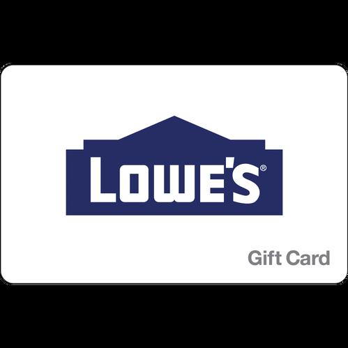 LOWE'S Home Improvement eGift Card - $500