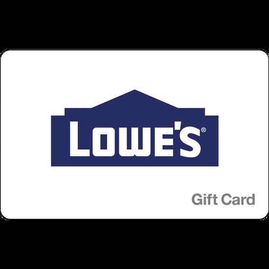 LOWE'S Home Improvement eGift Card - $250LOWE'S Home Improvement eGift Card - $250