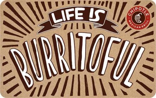 Chipotle Mexican Grill eGift Card - $10