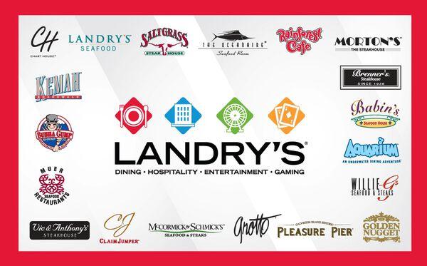 Landry's eGift Card - $50Landry's eGift Card - $50