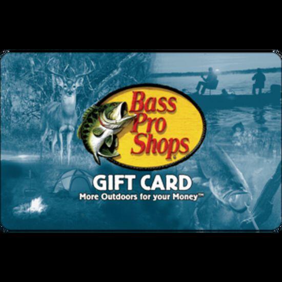 Bass Pro Shops eGift Card - $50Bass Pro Shops eGift Card - $50