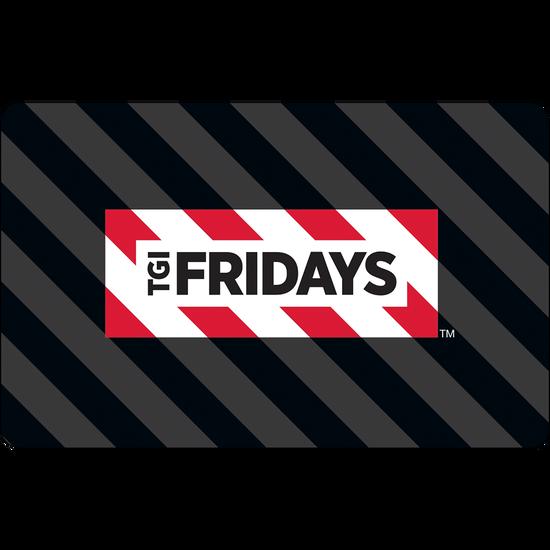 TGI Fridays TM eGift Card - $10TGI Fridays TM eGift Card - $10