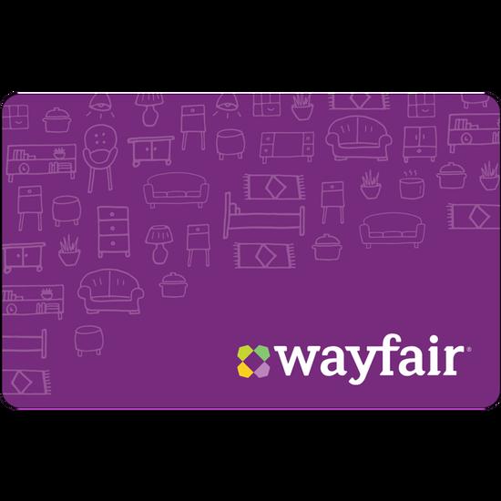 Wayfair eGift Card - $25Wayfair eGift Card - $25