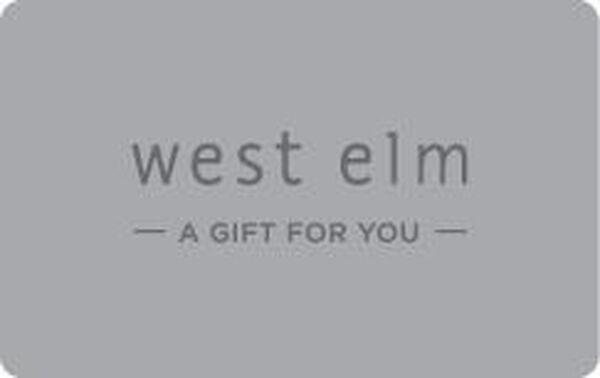 West Elm eGift Card - $50West Elm eGift Card - $50