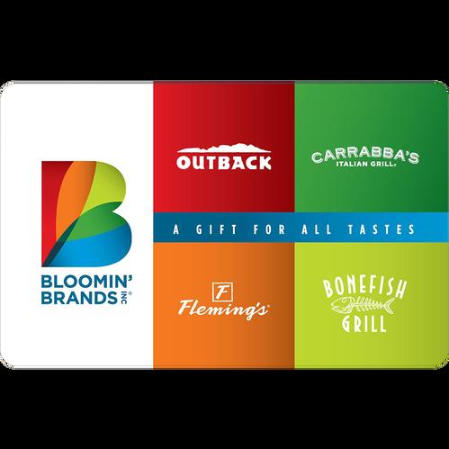 Bloomin' Brands eGift Card - $25