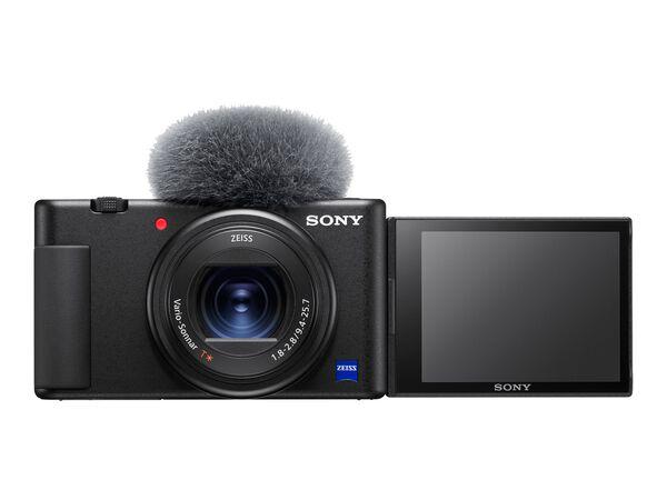 Sony ZV-1 - digital camera - ZEISSSony ZV-1 - digital camera - ZEISS, Black, hi-res
