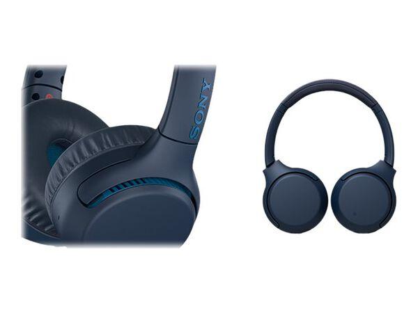 Sony WH-XB700 - headphones with micSony WH-XB700 - headphones with mic, Blue, hi-res