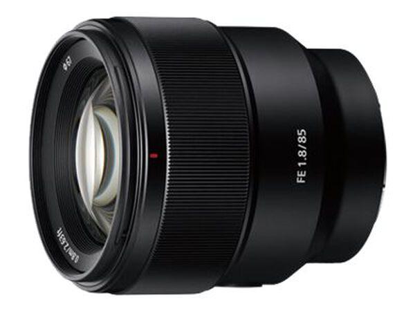 Sony SEL85F18 - telephoto lens - 85 mm - 85 mmSony SEL85F18 - telephoto lens - 85 mm - 85 mm, , hi-res
