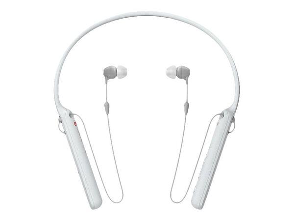 Sony WI-C400 - earphones with micSony WI-C400 - earphones with mic, White, hi-res