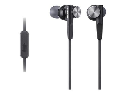 Sony MDR-XB50AP - earphones with mic, Black, hi-res