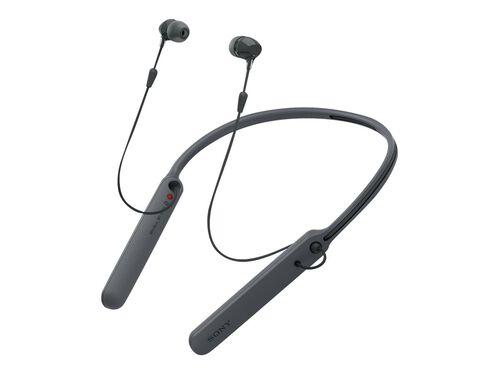 Sony WI-C400 - earphones with mic, Black, hi-res