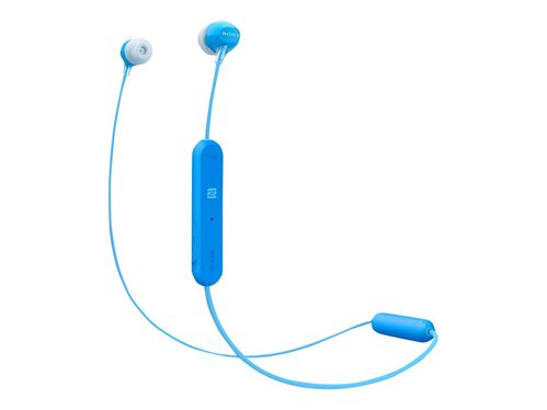 Sony WI-C300 - earphones with mic, Blue, hi-res