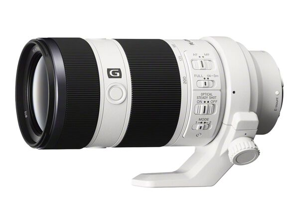 Sony SEL70200G - telephoto zoom lens - 70 mm - 200 mmSony SEL70200G - telephoto zoom lens - 70 mm - 200 mm, , hi-res