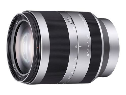 Sony SEL18200 - zoom lens - 18 mm - 200 mm, , hi-res
