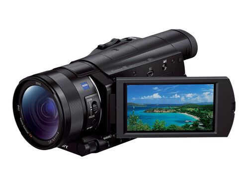 Sony Handycam FDR-AX100 - camcorder - Carl Zeiss - storage: flash card, , hi-res