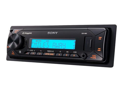 Sony DSX-M80 - marine - digital receiver - in-dash unit - Single-DIN, , hi-res