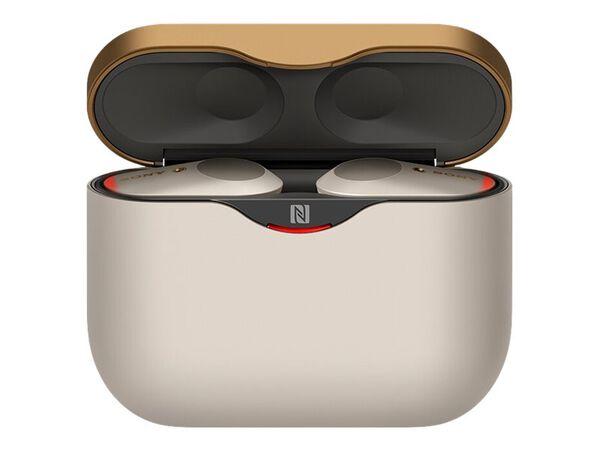Sony WF-1000XM3 - true wireless earphones with micSony WF-1000XM3 - true wireless earphones with mic, Silver, hi-res