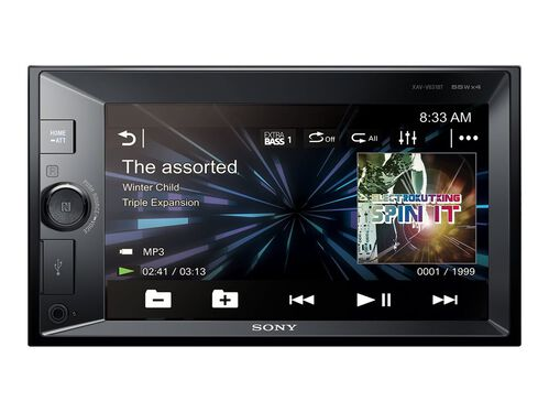Sony XAV-V631BT - digital receiver - display 6.2 in - in-dash unit - Double-DIN, , hi-res