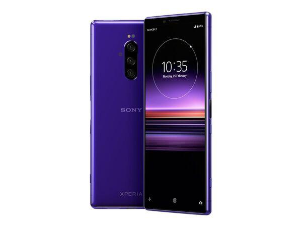 Sony XPERIA 1 - purple - 4G - 128 GB - GSM - smartphoneSony XPERIA 1 - purple - 4G - 128 GB - GSM - smartphone, , hi-res