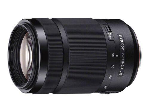 Sony SAL55300 - telephoto zoom lens - 55 mm - 300 mm, , hi-res