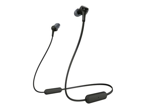 Sony WI-XB400 - earphones with mic, Black, hi-res