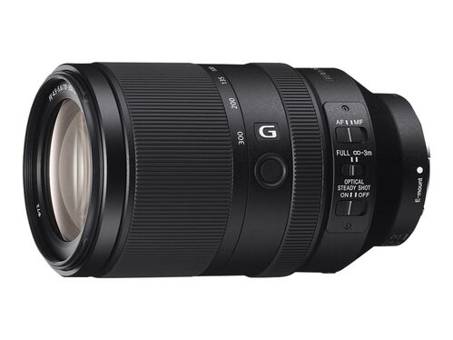 Sony SEL70300G - telephoto zoom lens - 70 mm - 300 mm, , hi-res