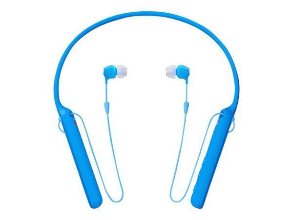 Sony WI-C400 - earphones with micSony WI-C400 - earphones with mic, Blue, hi-res