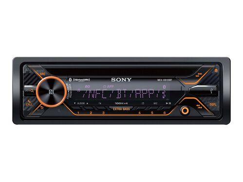 Sony MEX-XB120BT - car - CD receiver - in-dash unit - Single-DIN, , hi-res