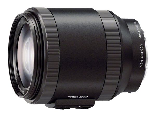 Sony SELP18200 - zoom lens - 18 mm - 200 mmSony SELP18200 - zoom lens - 18 mm - 200 mm, , hi-res