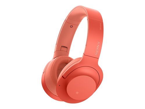 Sony h.ear on 2 Wireless NC WH-H900N - headphones with mic, Red, hi-res