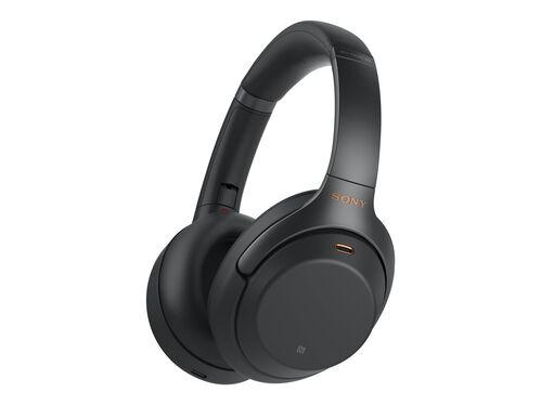 Sony WH-1000XM3 - headphones with mic, Black, hi-res