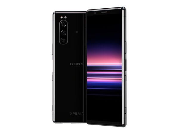Sony XPERIA 5 - black - 4G - 128 GB - GSM - smartphoneSony XPERIA 5 - black - 4G - 128 GB - GSM - smartphone, , hi-res