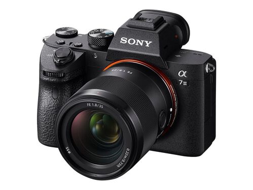 Sony SEL35F18F - wide-angle lens - 35 mm - 35 mm, , hi-res