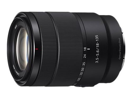 Sony SEL18135 - zoom lens - 18 mm - 135 mm, , hi-res