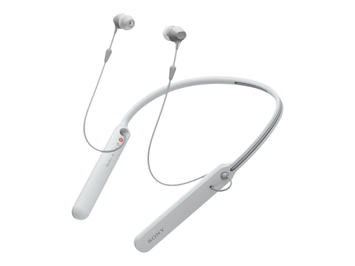 Iphone 7 earbuds microphone - Sony WI-C400 - earphones with mic Overview