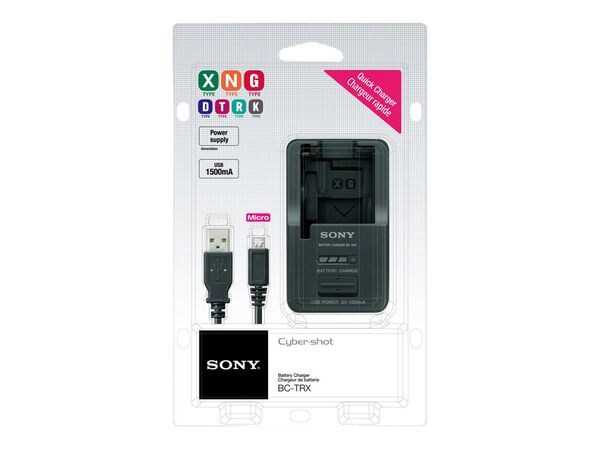 Sony BC-TRX - battery chargerSony BC-TRX - battery charger, , hi-res