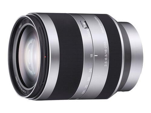 Sony SEL18200 - zoom lens - 18 mm - 200 mm, , hi-res