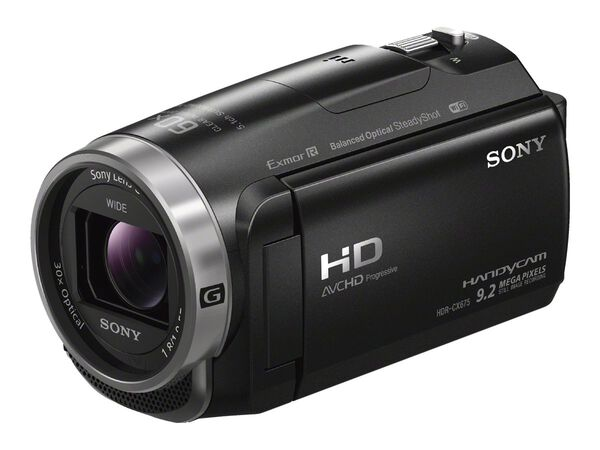 Sony Handycam HDR-CX675 - camcorder - storage: flash cardSony Handycam HDR-CX675 - camcorder - storage: flash card, , hi-res