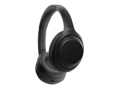 Sony WH-1000XM4 - headphones with mic, Black, hi-res