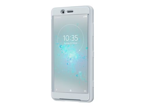 Sony XPERIA XZ2 Compact - white silver - 4G LTE - 64 GB - GSM - smartphone, , hi-res