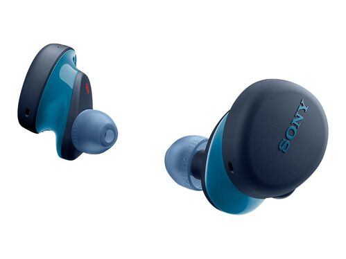 Sony WF-XB700 - true wireless earphones with mic, Blue, hi-res