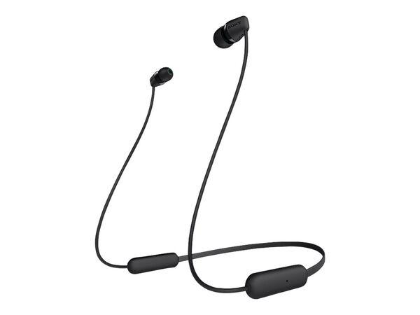 Sony WI-C200 - earphones with micSony WI-C200 - earphones with mic, Black, hi-res