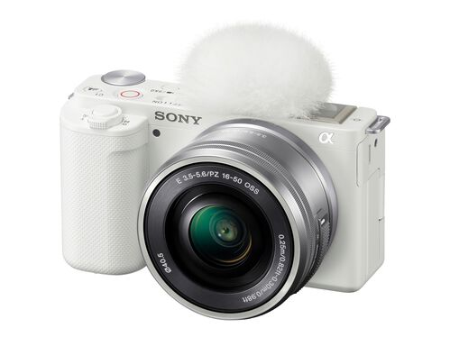 Sony α ZV-E10L - digital camera 16-50mm Power Zoom lens, White, hi-res