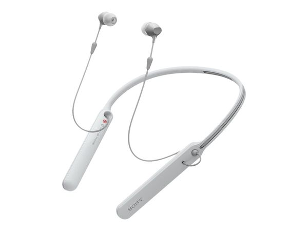 Sony WI-C400 - earphones with micSony WI-C400 - earphones with mic, White, hi-res