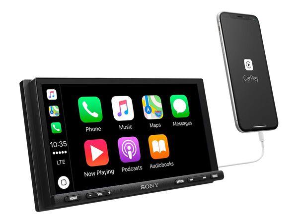 """Sony XAV-AX7000 - digital receiver - display 6.95"""" - in-dash unit - Double-DINSony XAV-AX7000 - digital receiver - display 6.95"""" - in-dash unit - Double-DIN, , hi-res"""