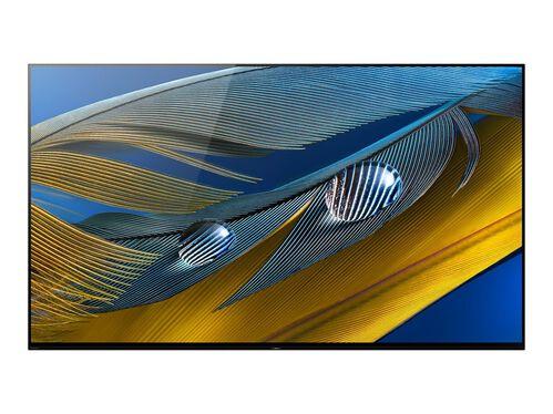 "Sony XR-77A80J BRAVIA XR A80J Series - 77"" Class (76.7"" viewable) OLED TV - 4K, , hi-res"