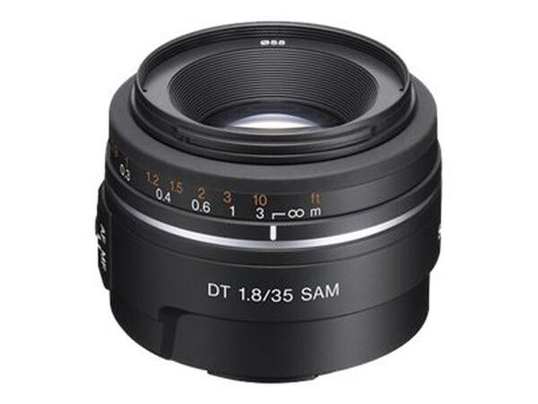 Sony SAL35F18 - wide-angle lens - 35 mmSony SAL35F18 - wide-angle lens - 35 mm, , hi-res