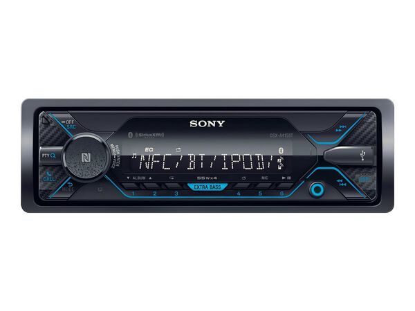 Sony DSX-A415BT - car - digital receiver - in-dash unit - Full-DINSony DSX-A415BT - car - digital receiver - in-dash unit - Full-DIN, , hi-res