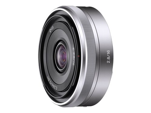 Sony SEL16F28 - wide-angle lens - 16 mm, , hi-res