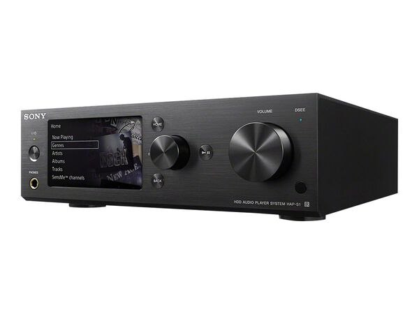 Sony HAP-S1 - network audio receiverSony HAP-S1 - network audio receiver, , hi-res
